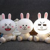 迷你觸摸小夜燈 兒童房臥室 卡通萌萌兔LED護眼檯燈《小師妹》dj45