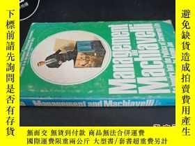 二手書博民逛書店Management罕見and Machiavglli5919