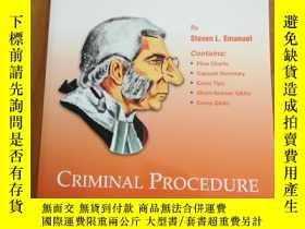 二手書博民逛書店Criminal罕見Procedure (Crunchtime)