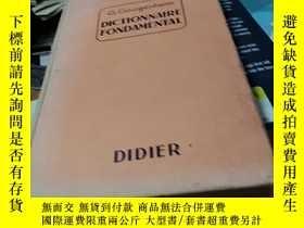 二手書博民逛書店G.罕見GOUGENHEIM DICTIONNAIRE FOND