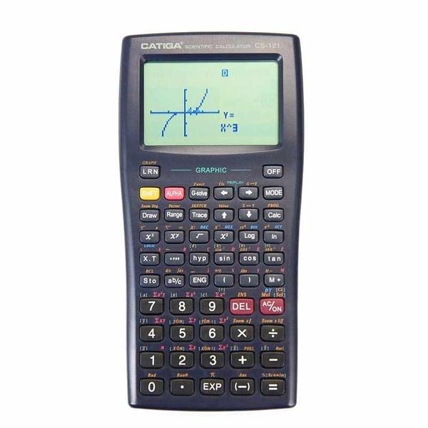 Catiga 科學圖形計算機 CS121 可編程 Scientific Graphic Calculator 粉/白/黑/紅 [2美國直購]