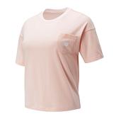 New Balance Oversized女款粉色短袖上衣-NO.WT01840PSA