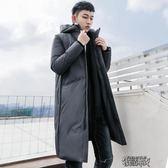 棉衣男士中長款冬季大衣韓版加厚棉襖子青年學生羽絨棉服外套YYJ 街頭布衣