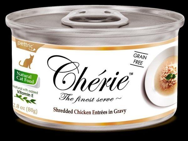 *WANG*【單罐】法麗Cherie《微湯汁系列》80G/罐 貓罐頭 六種口味任選