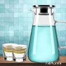 耐高溫玻璃冷水壺家用耐熱防爆涼水壺大容量...