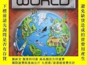 二手書博民逛書店The罕見Kingfisher Atlas of the Mod