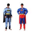 萬聖節成人變裝表演服裝/蜘蛛人蝙蝠俠 超人套裝─現+預購