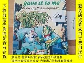 二手書博民逛書店The罕見chicken gave it to meY246207