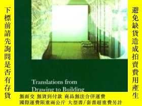二手書博民逛書店Translations罕見From Drawing To Building And Other Essays
