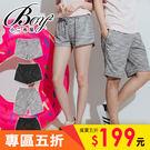 ●小二布屋BOY2【PPK81017】。●情侶款,混織棉褲。●2色 現+預