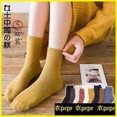 短筒襪-純棉中筒襪潮韓版學院風日系可愛個性長襪 衣普菈
