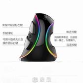 Delux多彩M618plus手握創意無線垂直滑鼠RGB有線發光靜音人體工學 現貨快出