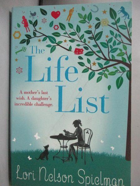 【書寶二手書T1/原文小說_GCW】The Life List_Lori Nelson Spielman