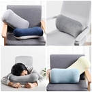 辦公室護腰靠枕椅子靠背墊記憶棉腰墊座椅沙發抱枕靠墊汽車【輕派工作室】