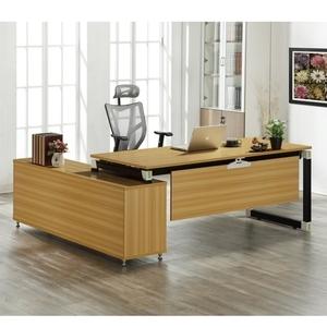 【MUNA 家居】凱伊6.6尺辦公桌組(含側櫃)