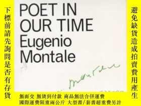二手書博民逛書店Poet罕見In Our TimeY255562 Eugenio Montale Marion Boyars
