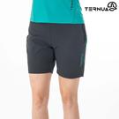 TERNUA 女 Shellstretch短褲1541934 / 城市綠洲 (透氣快乾、彈性耐磨、防曬、防潑水)