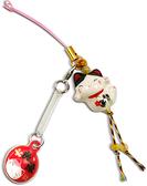 【金石工坊】開運招財貓手機吊飾/掛飾/御守-幸福良緣 開運招財 開運飾品