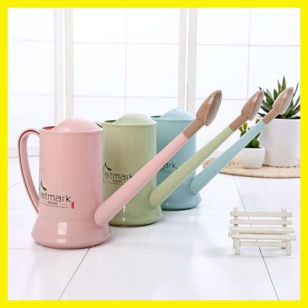 長嘴灑水壺塑料家用園藝養花工具澆水器盆栽澆花噴壺噴水壺花灑壺
