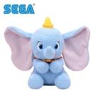 【日本正版】小飛象 吐舌造型 絨毛玩偶 38cm 娃娃 Dumbo 迪士尼 Disney SEGA - 479274