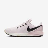 Nike Air Zoom Structure 22 [AA1640-009] 女鞋 運動 休閒 慢跑 透氣 緩震 粉黑