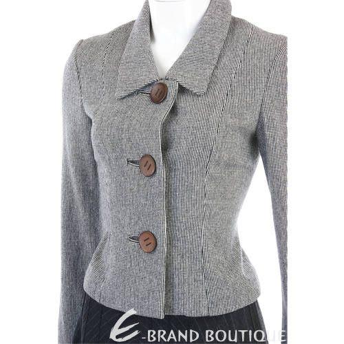 HACHE 灰色釦飾西裝外套 0740400-37