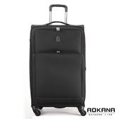AOKANA奧卡納 25吋 經典輕量防潑水商務旅行箱(黑)99-045B
