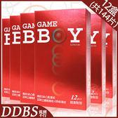 【套套先生】GAMEBOY 勁小子 超激點型 12片*12盒(共144片)衛生套/保險套/熱銷/潤滑液/凸點/螺紋/顆粒