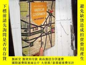二手書博民逛書店MAGRUDER罕見S AMERICAN GOVERNMENT