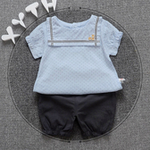 嬰幼兒0-1-2-3-4歲女寶寶秋冬套裝女童裝短褲兩件套兒童衣服夏天【免運】