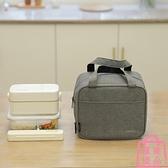 保溫便當袋子上班族學生帶飯餐包鋁箔加厚大號飯盒袋【匯美優品】