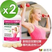 【赫而司】荷蘭原廠專利Clarinol可麗諾紅花籽油CLA軟膠囊(90顆x2罐)