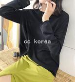 透氣捲邊防曬薄針織衫 CC KOREA ~ Q24135