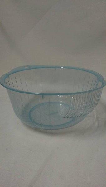 24CM洗米器880262 洗米盆 洗滌盆 洗菜盆 洗米籃 清洗白米、蔬菜、水果【八八八】e網購