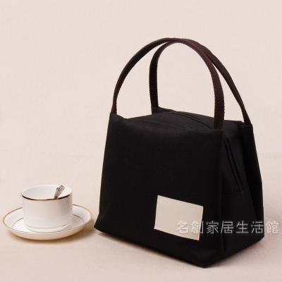 日本帆布便當袋便當袋保溫便當袋牛津布媽咪便當袋手提袋正韓防水【快速出貨】