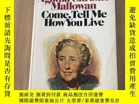 二手書博民逛書店Come,罕見tell me how you liveY347622 Agatha Christie Mall