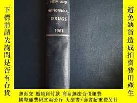 二手書博民逛書店New罕見and Nonofficial DRUGS 1961Y