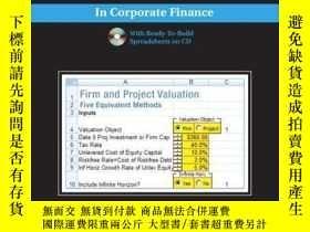 二手書博民逛書店Excel罕見Modeling And Estimation In Corporate FinanceY255