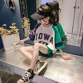 女童運動套裝 女童夏裝套裝2021新款兒童夏季運動中大童裝女孩韓版洋氣時髦 快速出貨