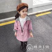 女童風衣外套春秋2018新款洋氣中長款韓版兒童秋季上衣女寶寶秋裝