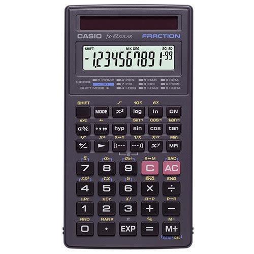 CASIO FX-82 SOLAR 工程用計算機/國家考試公告指定機型