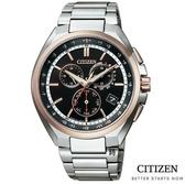 CITIZEN光動能電波錶 萬年曆鈦金屬 手錶(CB5044-62E) 現貨