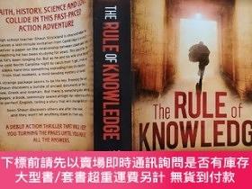 二手書博民逛書店the罕見rule of knowledge (知識法則)英文原版 作者scott baker 斯科特·貝克 英文