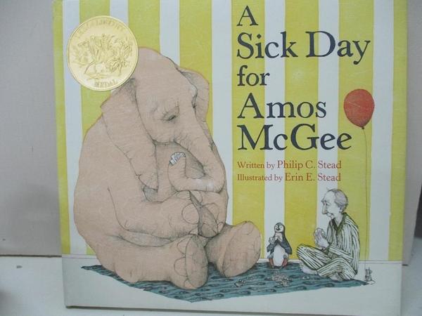 【書寶二手書T2/少年童書_D29】A Sick Day for Amos McGee_Stead, Erin (ILT)/ Stead, Philip Christian