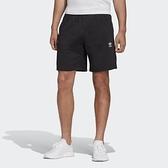 【一月大促現貨折後$1380】ADIDAS TREFOIL ESSENTIALS 短褲 黑 棉質 運動 休閒短褲 男款 FR7977