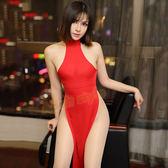 誘愛女爵高腰開叉性感旗袍(紅)-彩虹情趣用品【390免運,全館86折】