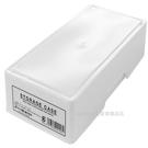 asdfkitty可愛家-日本製-SANADA白色口罩收納盒/置物盒/整理盒