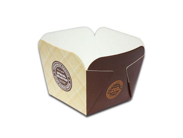 30入 120cc 方形蛋糕盒 戚風蛋糕杯 CA049