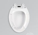 通用科勒馬桶蓋板K4636/4653座便蓋子加厚老式坐便器pp板廁所配件 夢娜麗莎