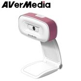 AVerMedia 圓剛 PW310 直播視訊攝影機 粉白